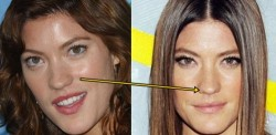 jennifer carpenter plastic surgery before and after nose job