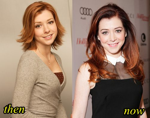 alyson lee hannigan boob job