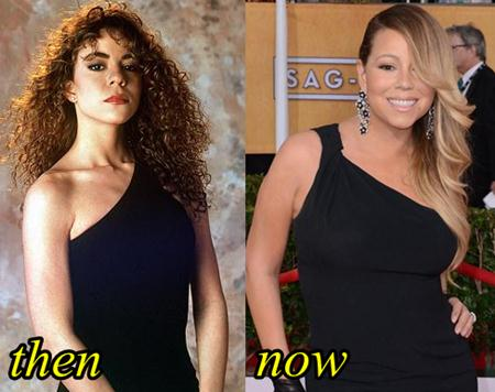 Mariah Carey Plastic Surgery Before and After