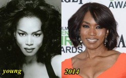 Angela Basset Plastic Surgery Before and After