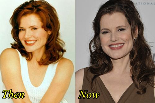 Geena Davis Plastic Surgery Before After