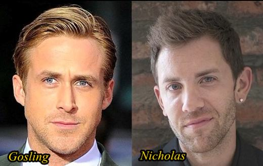 Ryan Gosling and Nicholas Ryan Plastic Surgery