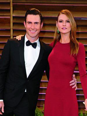 Adam Levine and Behatia Prinsloo